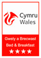 Visit Wales 4 Star Bed and Breakfast Grading