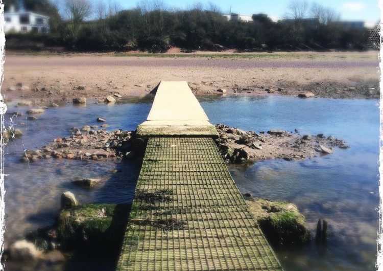 Stepping Stones Pembrokeshire Coast