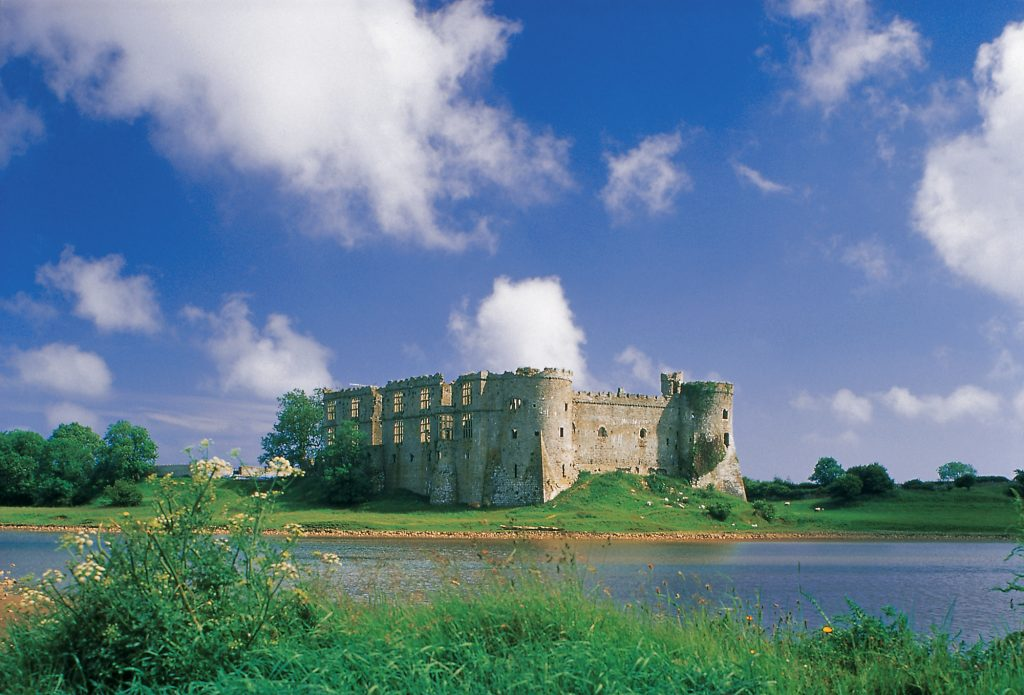 Castles in Pembrokeshire - Carew