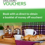 Discount vouchers for shopping