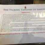 St Jerome's Talking Tapestry facts
