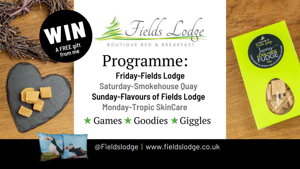 Programme of Fields Lodge Events